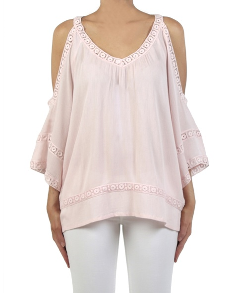 Misha top blush front