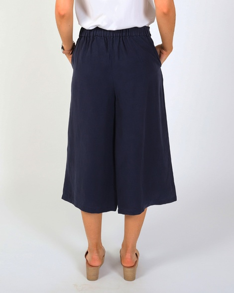 Tie front flare pant B