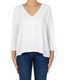 Embroidered Odette Top