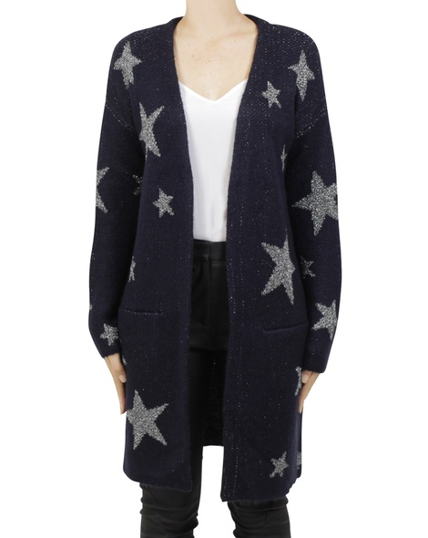 constellation cardi charcoal A