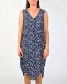 Animal blue dress A