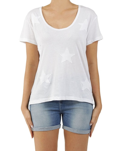 Milky Way Tee White A