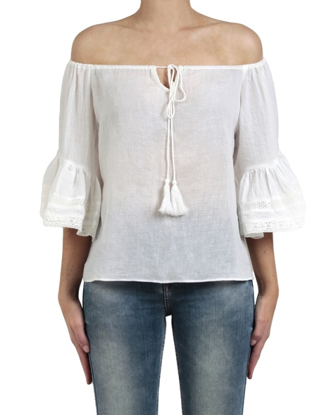 Fortuna top white front