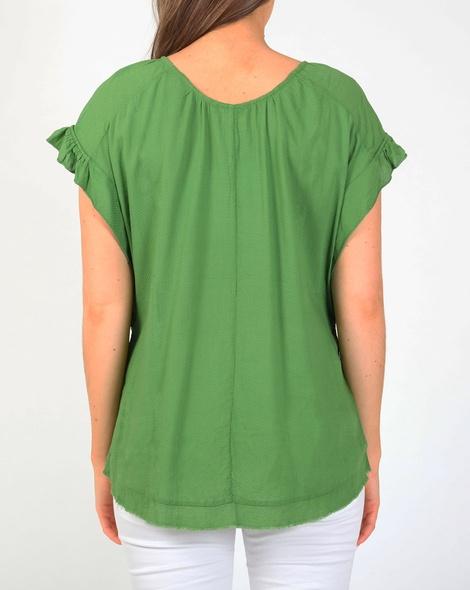 Marcella top green B