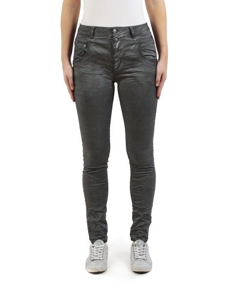 Button Hero jean charcoal front