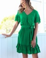 Libby dress green (115)