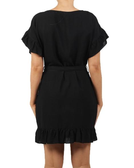 Raven Dress Black B