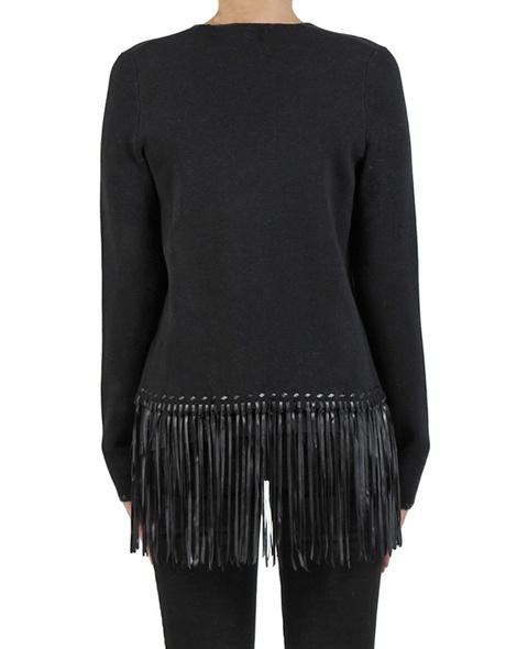 Coco fringe Knit black back copy