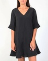 Jessie linen dress blk new style A