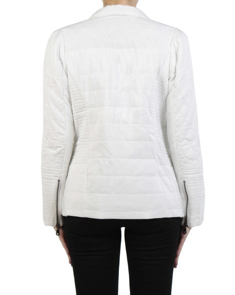 Sport Luxe Puffer Jacket ecru back copy