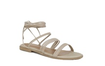 THEORY - Lace Up Flat Sandal