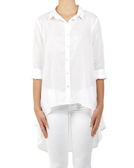 Drake Shirt white A