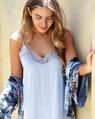 Shiona Slip dress sky + Paisley kimono blue (38)