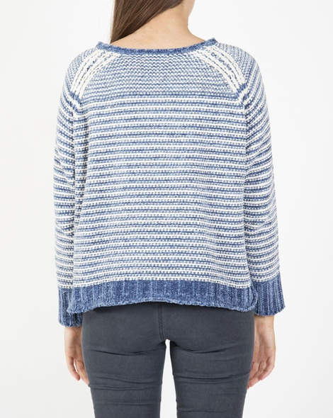 Lumi knit denim B