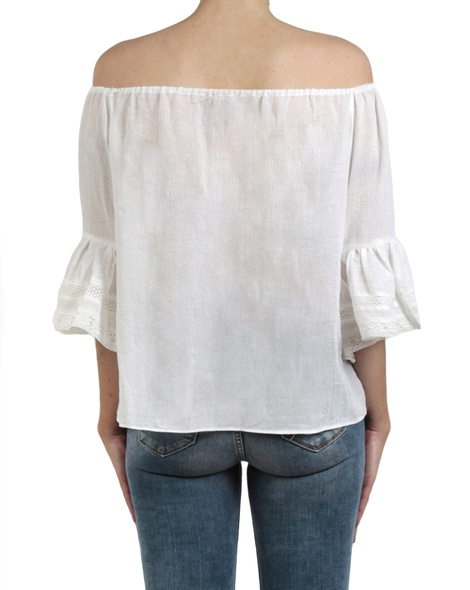 Fortuna top white  back