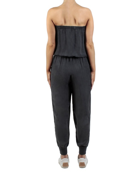 Bria Jumpsuit charcoal back