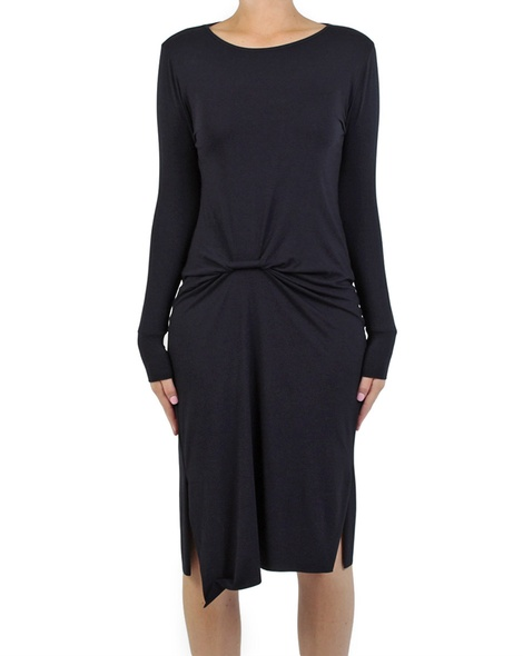 Lucille dress midnight front