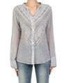 Bella shirt silver front