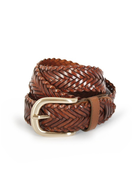 Erskinville Braided Belt tan