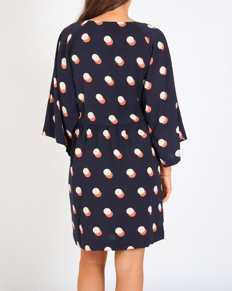 Spotty lotus dress B