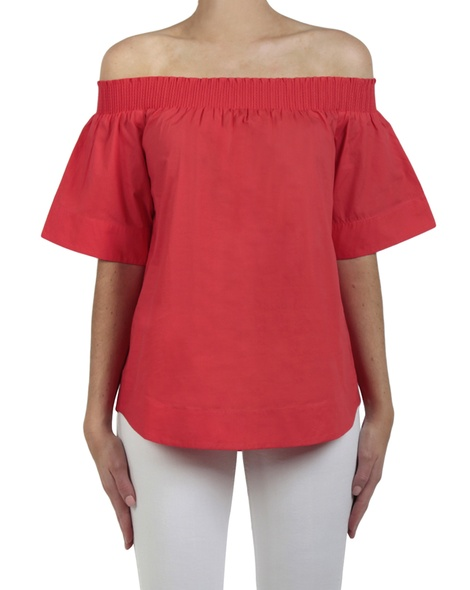 Valencia top red front copy
