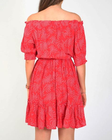 Ivy dress red B
