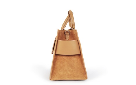 Cinthia bag tan side