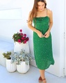 Scarlet dress green (62)