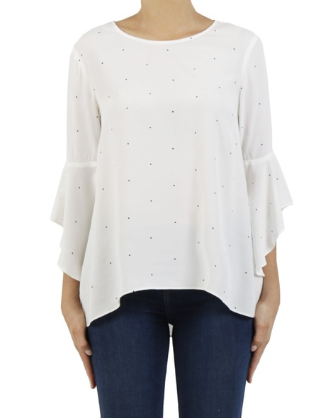 Spotty Day Dream blouse A