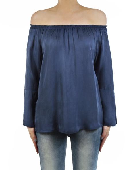 Enrica top blue front