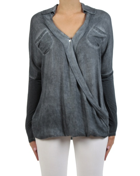 Danah top charcoal front