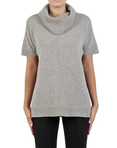 Florrie Jumper grey front copy