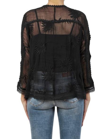 Carly kimono black back