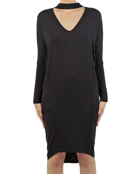 Lucinda dress black front copy