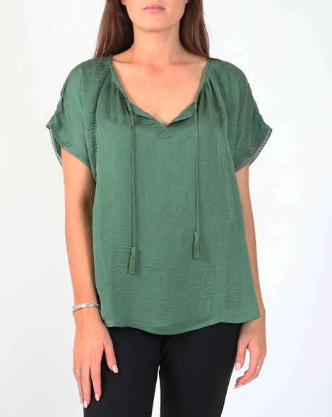 Ruby top green A