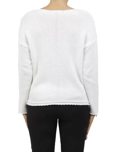 Astrid knit white new B