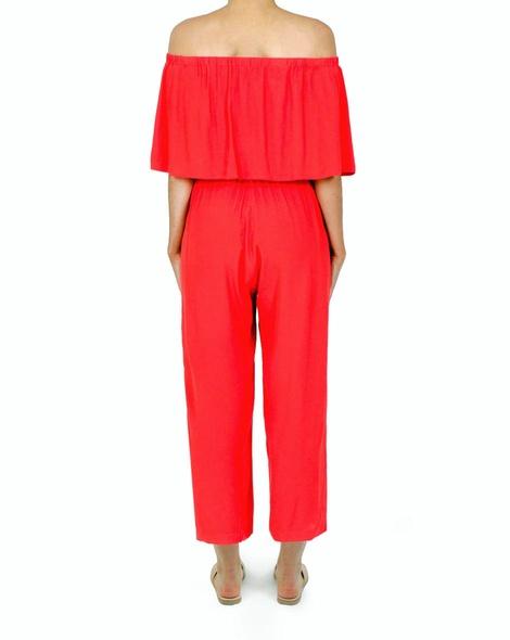 Daphne Jumpsuit red D