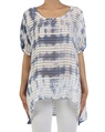 Sunset top blue white front copy