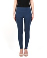 Skinny chaucer navy front