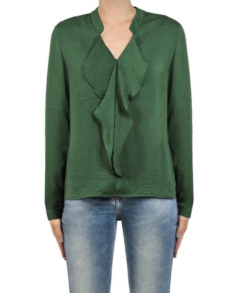 Razi Frill top emerald front