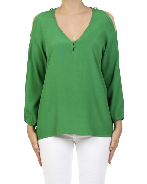 Eden top green A