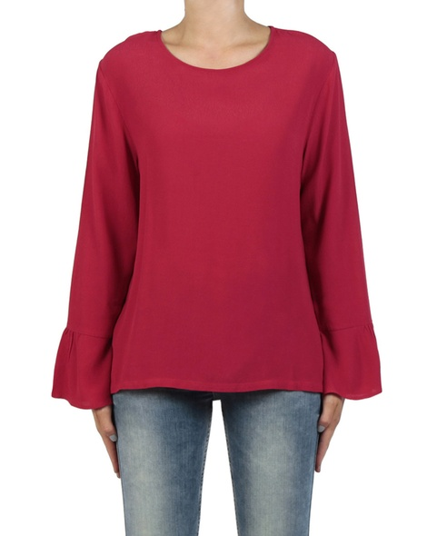 Shea frill top cherry front