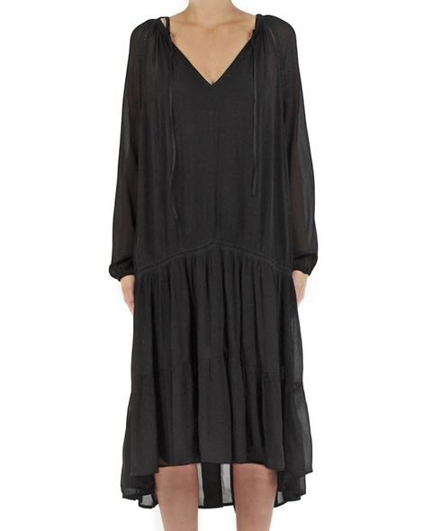 Ariel dress black front