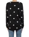 Sia spotty knit black back