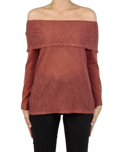 Olivia knit rust front copy