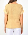 Sahara tee yellow B