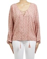 feather miranda top pink A