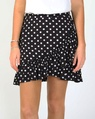 Spotty melita skirt blk A