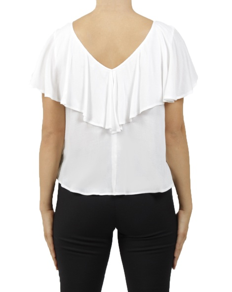 Abigail top white B