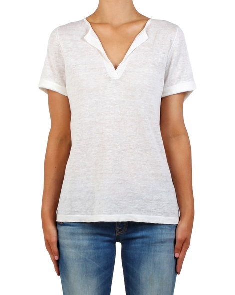 Camille Tee white front